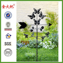 metal butterfly weather vane