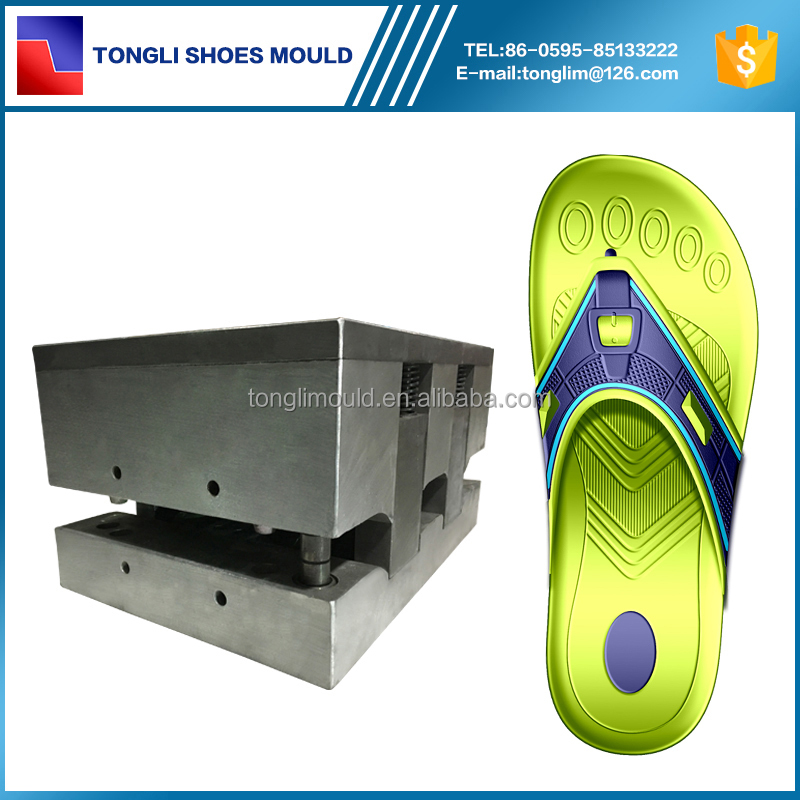 Customized EVA Slipper Shoe Molding Maker Two Color EVA Shoe Injection Mould