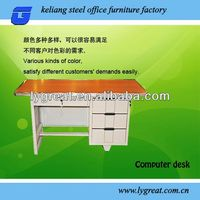 office desk and table white