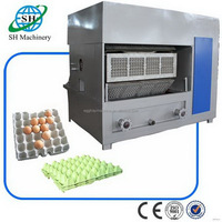 Excellent quality hotsell small egg tray box making machine