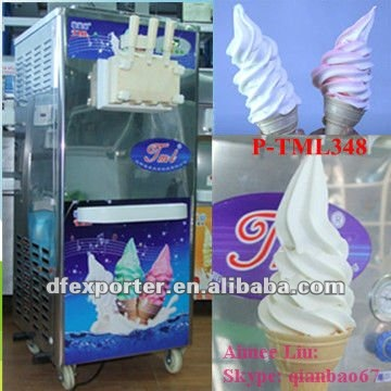 New shapes common soft ice cream machine
