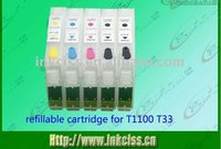 refill ink cartridge for Epson T1100 T1110 T33