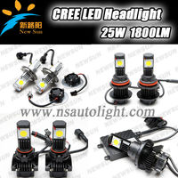 2013 Hot sale AUTO Car Led headlight H1,H3,H4,H7,H8,H9,H10,H11, H13,9004,9005,9006 and 9007, 3600LM 50W C REE LED headlight kit