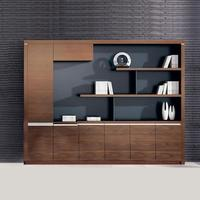 Wooden Office Storage Book Cabinet File Cabinet