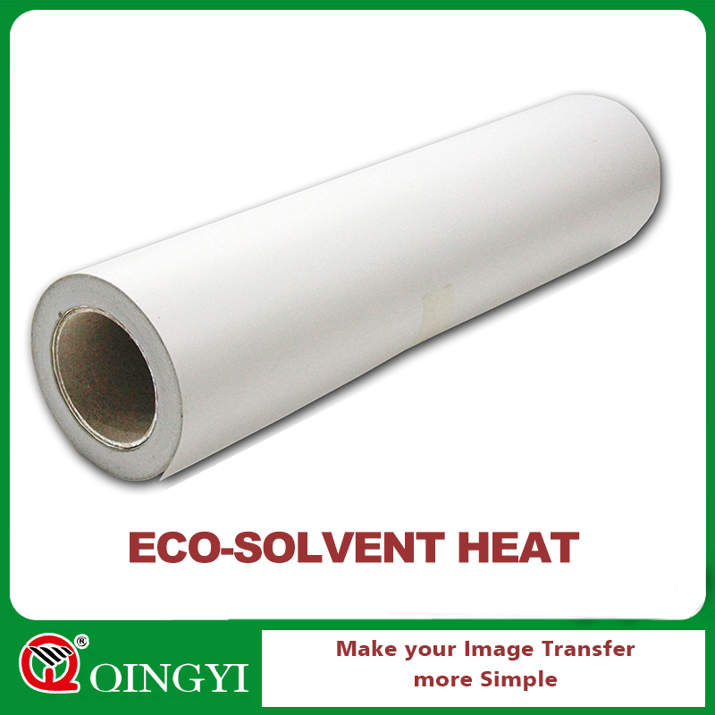 Eco solvent printable adhesive vinyl roll for clothing
