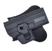Tactical Polymer Leather Belt Holster Glock