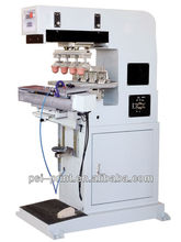 275-140S5 five-color shuttle ink cup pad printing machine