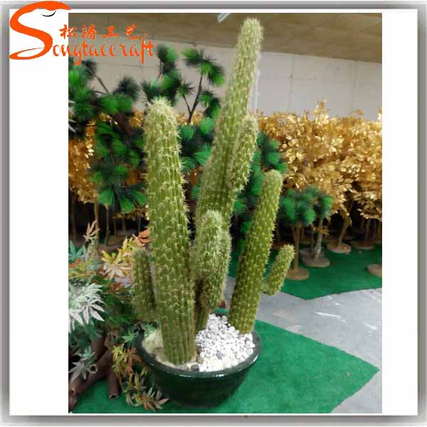 wholesale garden supplies all types of cactus names plants artificial cactus tree for indoor