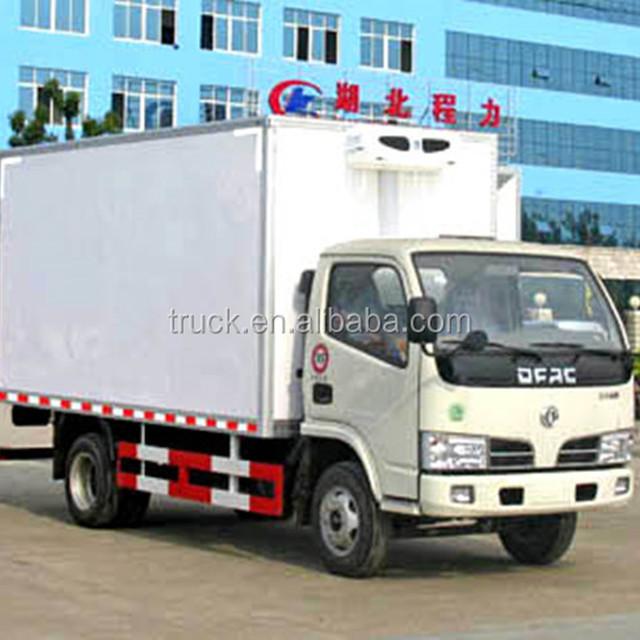 ice cream refrigerated box truck with favorite refrigerator price