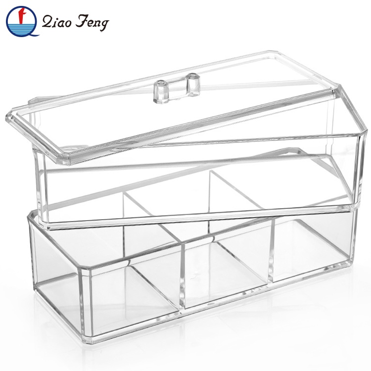Wholesale Transparent Professional Beauty Box Makeup Vanity Case