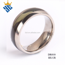 Bulk sale stainless steel rings wholesale jewelry fashion latest wedding ring designs new model titanium camon wedding ring
