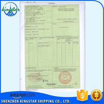 Certificate of origin china korea form k view certificate of certificate of origin china korea form k yadclub Images