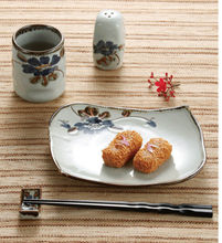 Japanese style steel dinner plates with excellent price