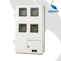 SAIP/SAIPWELL New Product Wireless Electricity Meter Plastic Enclosure Gas Meter Box