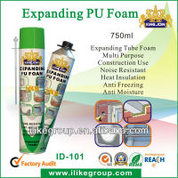 750ml close cell PU Expanding Foam