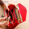 PU leather coin purse bag function pocket wallet cover
