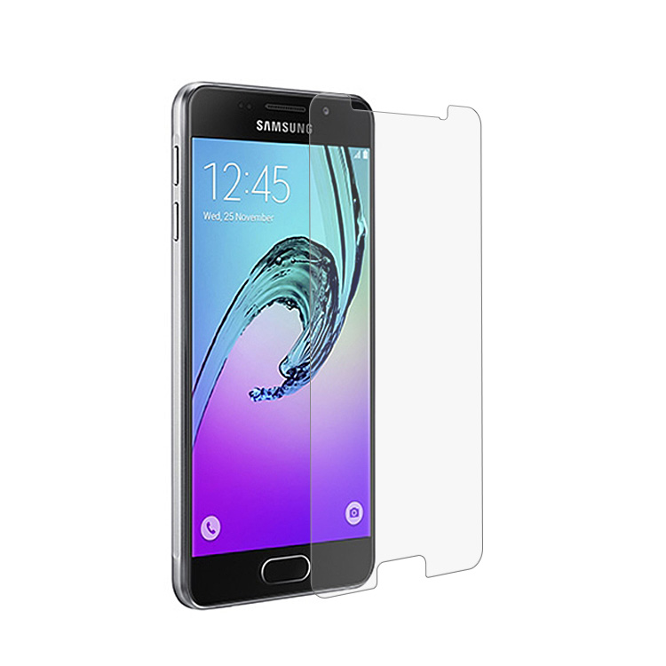 0.33mm tempered glass screen protector for samsung galaxy A3 2017 clear tempered glass