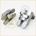 Zinc Alloy hinge 3D Adjustable Interior Door Hinges Concealed 110*24*26*25.5mm