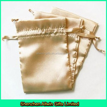 Satin drawstring bag/Satin jewellery pouches with size 4 x 6 inches