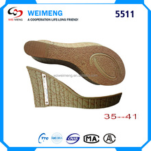 Shoe sole Manufacturers looking for distributors sell New design PU sole for women sandals
