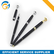 Magnetic Cap Pen Hot Selling Elegant Metal Stand Ball Pen
