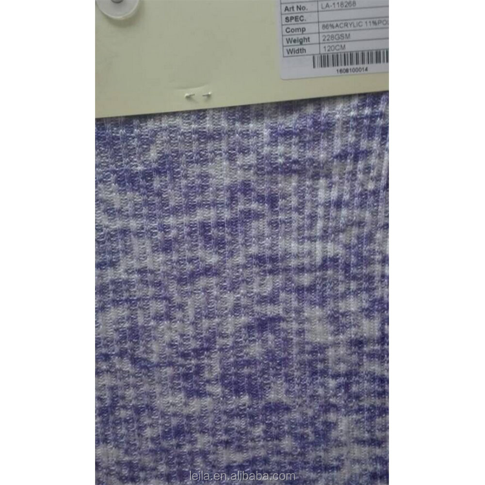 Shaoxing knitted fabric for dress,skirt apparel 100%poly