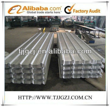 Galvanium Trapazoid Steel Roofing Sheets