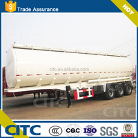 China manufacturer 3 axles oil tank wagon trailer for transport oil