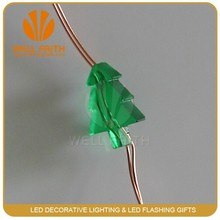 Holiday Items 2 M 20 Bulbs or Customized Copper Wire Battery led christmas light chain