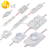 Waterproof IP65 back lighting SMD 2835 high power injection led modules with lens