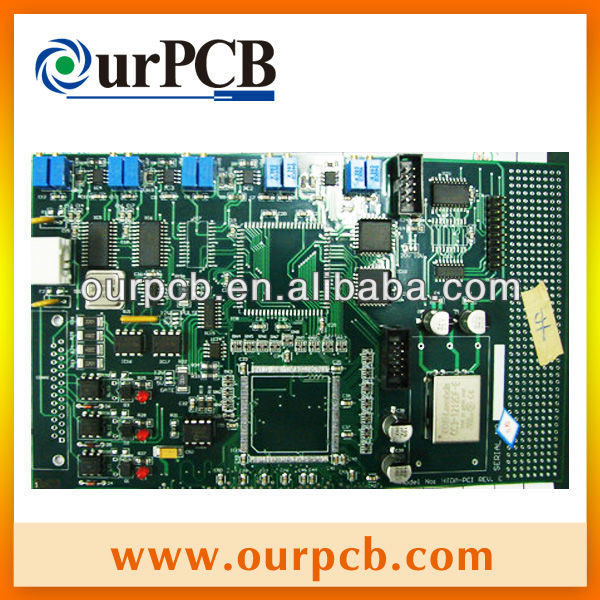 custom elevator control pcb board, air conditioner control pcb board fabrication