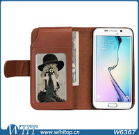 Super Wallet Phone Case for Galaxy S6, Stand Flip Leatehr Case for Samsung Galaxy S6