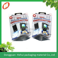 Euro Hole Aluminum Foil Electronic Antistatic Customized Packaging Bag