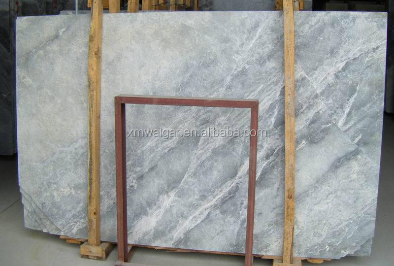 best quality slab size silver mink Italian marble white marble