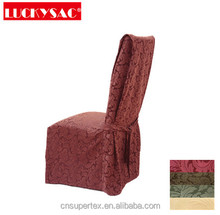 Fabric wedding chair cover restaurant dining chair seat covers
