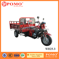 2016 Chinese Popular Motorized Passenger Seat 250CC China Gasoline Cargo Tricycle Van Cargo Tricycle With Cabin