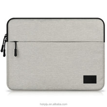 Stylish female fashionable waterproof Free sample black laptop hard case with double zipper for customized notebook