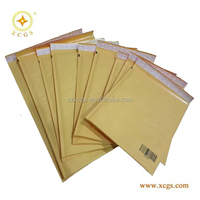 Custom Logo Padded Kraft Envelope / Jiffy Bag/Gold Kraft Bubble Mailers