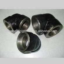 "1/4"" to 4"" 45-Degree Socket Weld Threaded Connection Ends Elbow Pipe Fittings"
