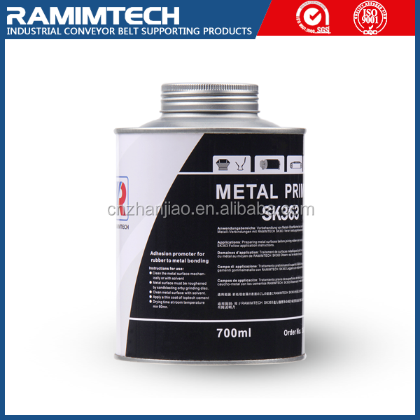 Silicon industrial epoxy adhesive solvent coating metal primer for rubber and metal jointing
