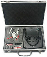 ar drone carrying protective box aluminum product box case with foam