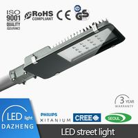 5 years warranty led street light 60w to 200w IP68 inport driver 200w led street lamp