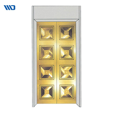 Various Style Decoration Accredited Home Elevator Door Panel