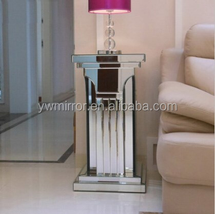 HWM30119 contemporary mirrored furniture-mirror pillar for home decorative