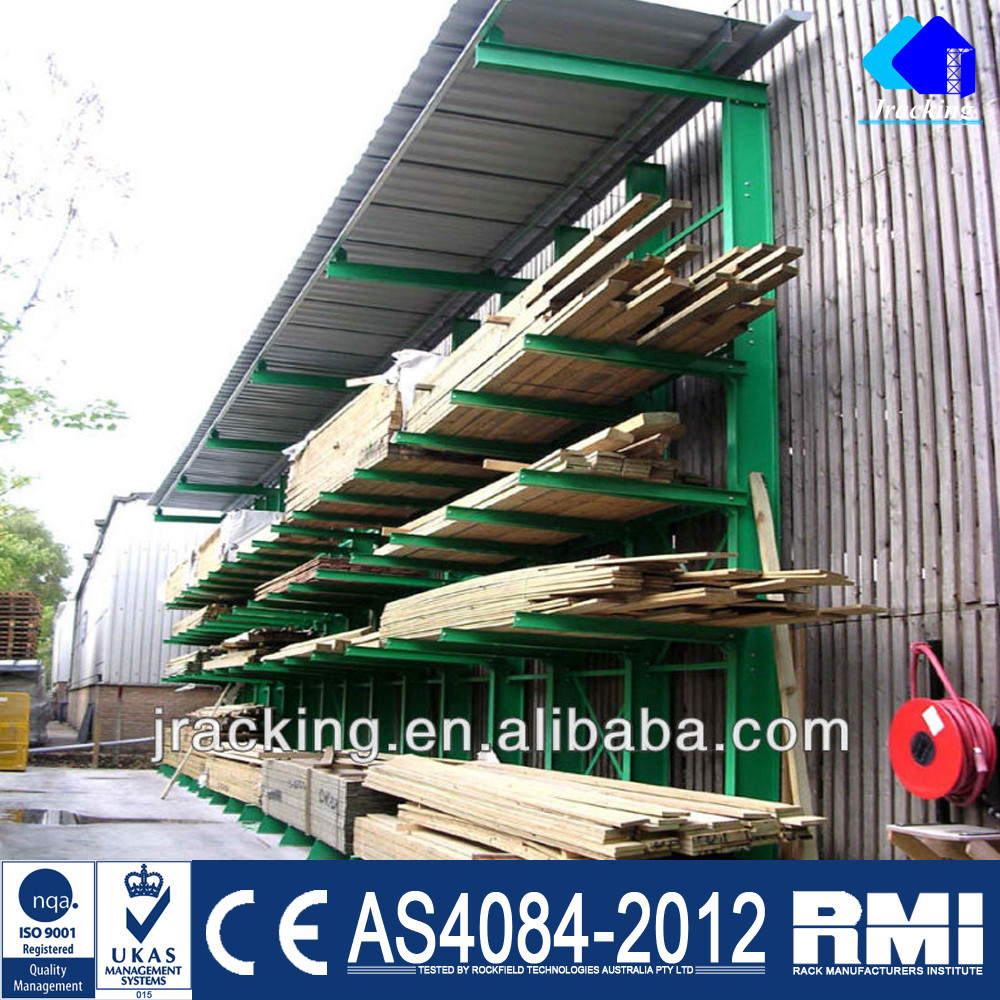 Jracking Industrial Steel Pipe Cantilever Storage Rack Factory
