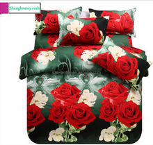 romantic red royal luxury bedding
