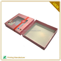 Custom OEM Paper Box With Clear