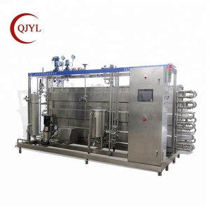 Food sterilizing homogenizer and pasteurizer for milk