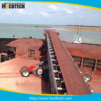 Steel Belt conveyor system for sand, stone and corn