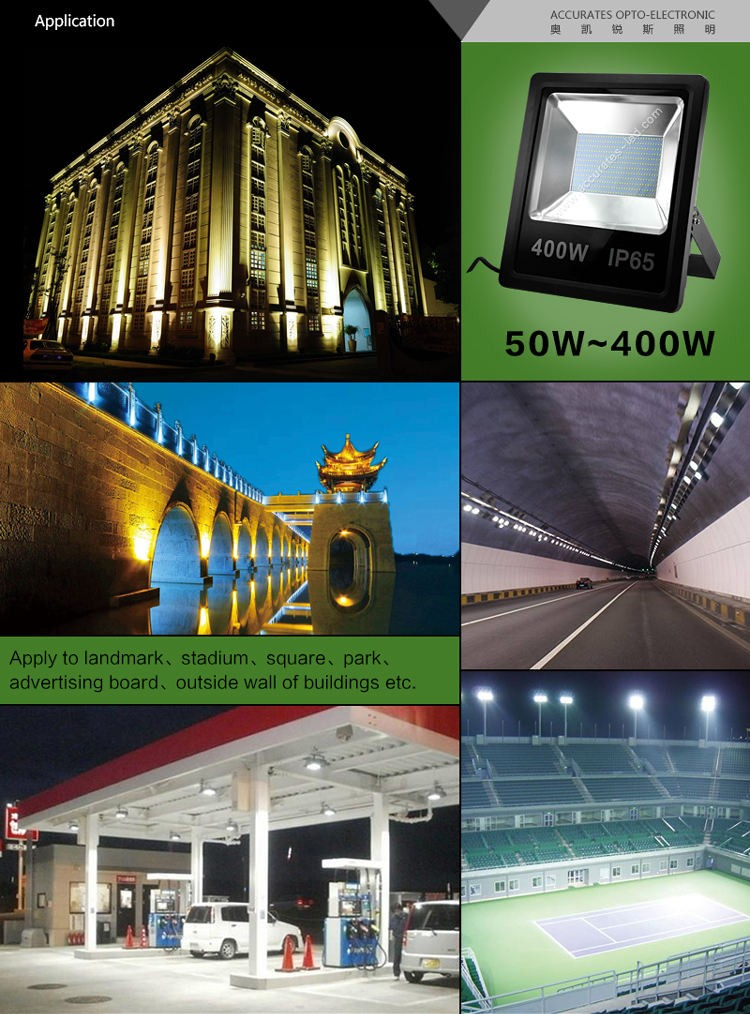 3 years warranty India price 400W led flood light trade assurance supplier